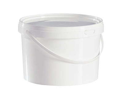 2.5 Litre Food Grade Plastic Bucket With Lid - Multipurpose