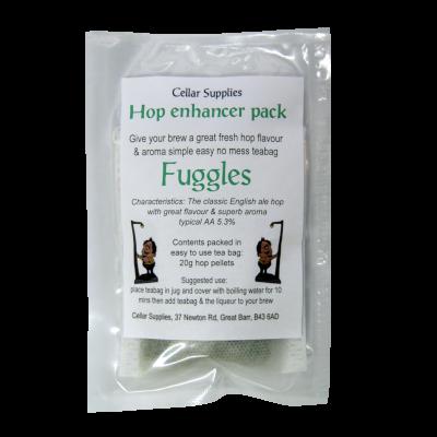 Tea Bag Hop Enhancer Pack - 20g Fuggles Hop Pellets