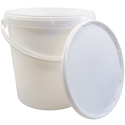 10 Litre Food Grade Plastic Bucket With Lid - Multipurpose Ideal For Homebrew & Winemaking
