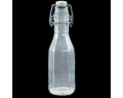 250ml Costalata Clear Swing Top Bottle