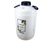 25 Litre Wide Neck Wine Fermenter With 4 Inch Cap