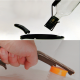 2 in 1 Shrink Cap Holder And Wine Bag Opening Tool