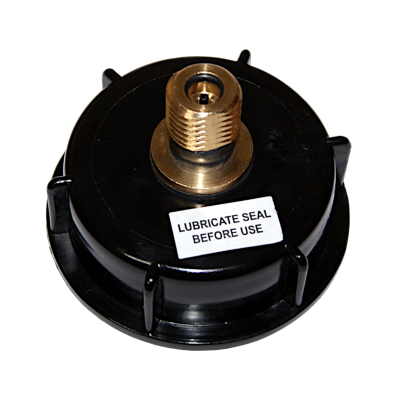 2 Inch Pressure Barrel Cap With Brass S30 Valve (Piercing Pin Type)