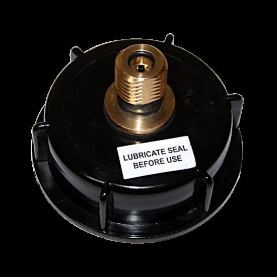 2 Inch Pressure Barrel Cap With Brass S30 Valve (Piercing Pin Type)