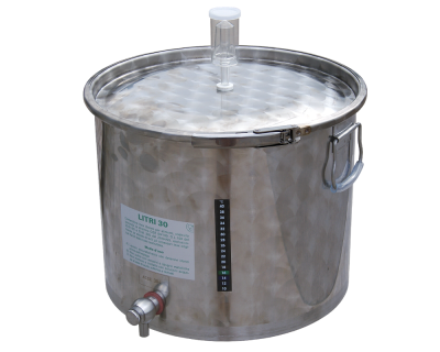 Stainless Steel Fermenter With Tap - 30L