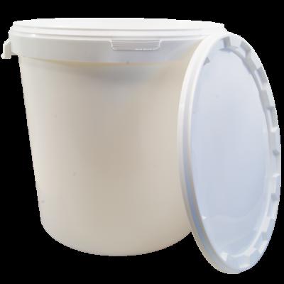 30 Litre Food Grade Plastic Bucket With Lid