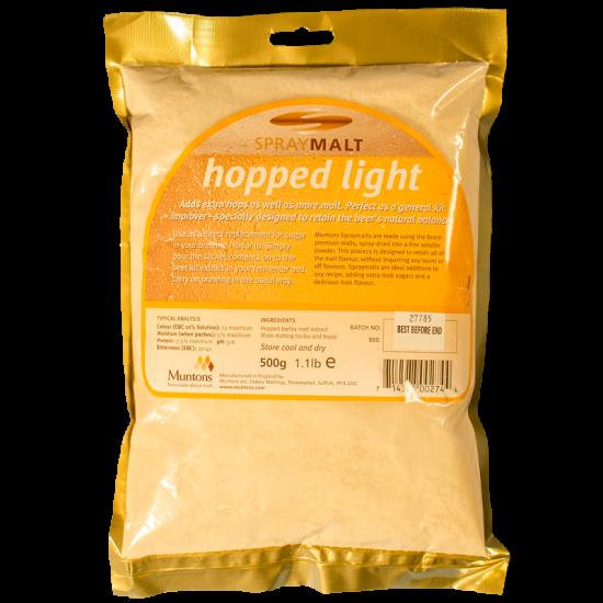 Muntons Spraymalt Hopped Light 500g