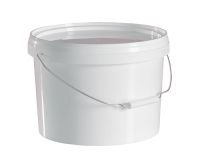 5 Litre Food Grade Plastic Bucket With Lid - Multipurpose Ideal For Homebrew & Winemaking
