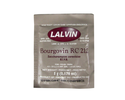 Lalvin Burgundy Wine Yeast - RC 212