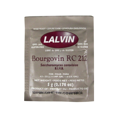 Lalvin Burgundy Wine Yeast - RC 212