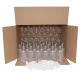 330ml Small Clear PET Plastic Bottles With White Caps - Pack Of 70