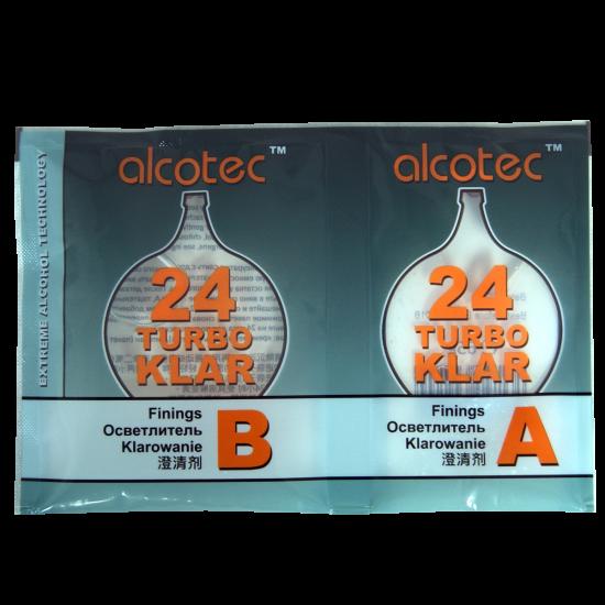 Alcotec 24 Hour Turbo Clear - Finings