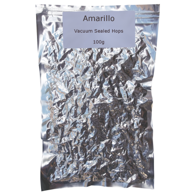 100g Vacuum Foil Packed - Amarillo Whole Leaf Hops