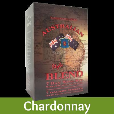Australian Blend - 30 Bottle White Wine Kit - Chardonnay