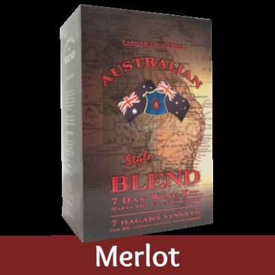Australian Blend - 30 Bottle Red Wine Kit - Merlot