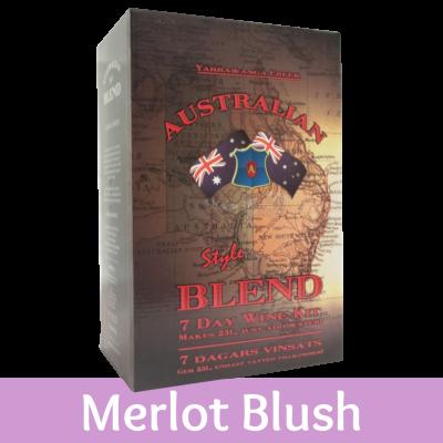 Australian Blend - 30 Bottle Rose Wine Kit - Merlot Blush