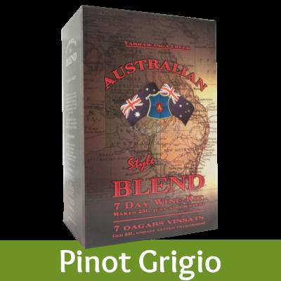 Australian Blend - 30 Bottle White Wine Kit - Pinot Grigio