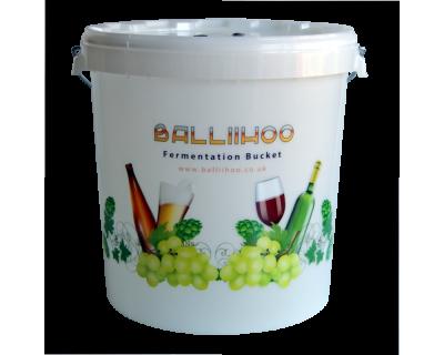 Balliihoo 30 Litre Fermentation Bucket With LCD Temperature Indicator