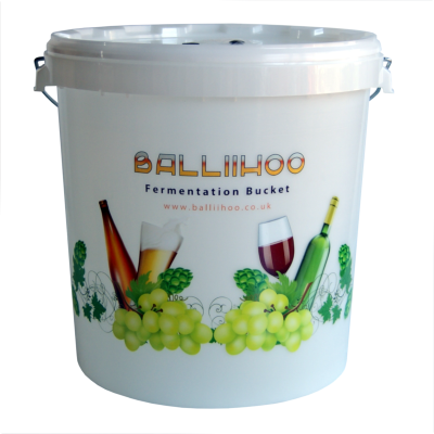 Balliihoo 30 Litre Fermentation Bucket With LCD Temperature Indicator