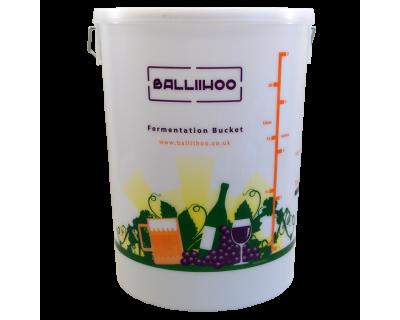 Balliihoo 5 Gallon / 25 Litre Fermentation Bucket With LCD Temperature Indicator