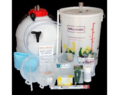 Balliihoo Premium Equipment Starter Kit With King Keg & Co2 Injection System