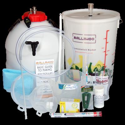 Balliihoo Premium Equipment Starter Kit With King Keg & Co2 Pressure Top Up System