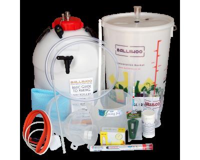 Balliihoo Premium Equipment Starter Kit With King Keg, Co2 Injection System & Heater Belt