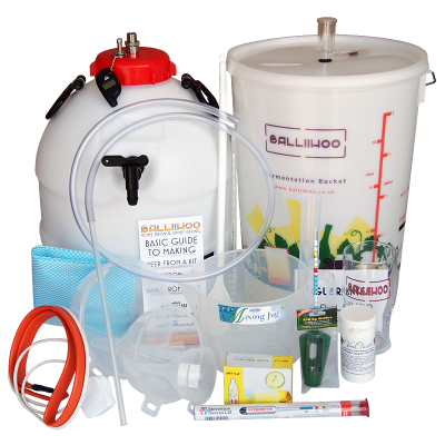 Balliihoo Premium Equipment Starter Kit With King Keg, Co2 Pressure Top Up System & Heater Belt