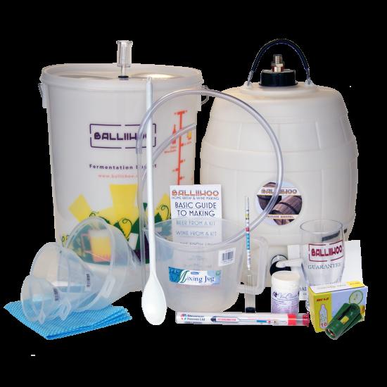 Balliihoo Complete Equipment Starter Kit With 8 Gram Co2 Pressure Top Up System