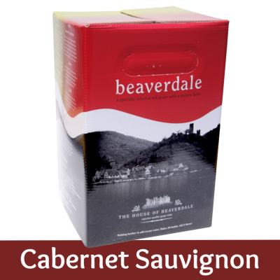 Beaverdale 30 Bottle Red Wine Ingredient Kit - Cabernet Sauvignon