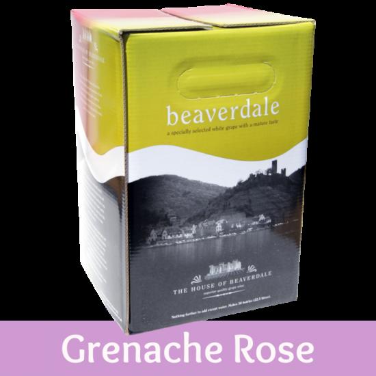 Beaverdale 30 Bottle Rose Wine Ingredient Kit - Grenache Rose