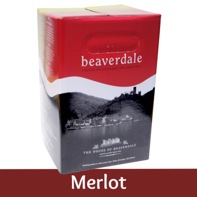 Beaverdale 30 Bottle Red Wine Ingredient Kit - Merlot