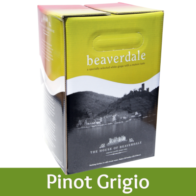 Beaverdale - 30 Bottle White Wine Ingredient Kit - Pinot Grigio