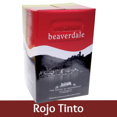SPECIAL OFFER - Beaverdale 30 Bottle Wine Ingredient Kit - Rojo Tinto (Rioja) - Damaged Box