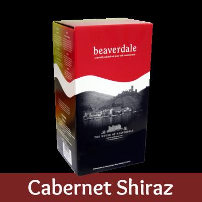 Beaverdale 6 Bottle Red Wine Ingredient Kit - Cabernet Shiraz