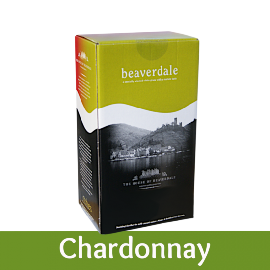 Beaverdale 6 Bottle White Wine Ingredient Kit - Chardonnay