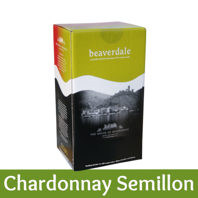 Beaverdale 6 Bottle White Wine Ingredient Kit - Chardonnay Semillon