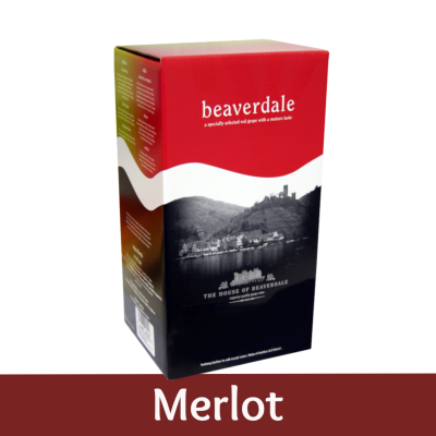 Beaverdale 6 Bottle Red Wine Ingredient Kit - Merlot