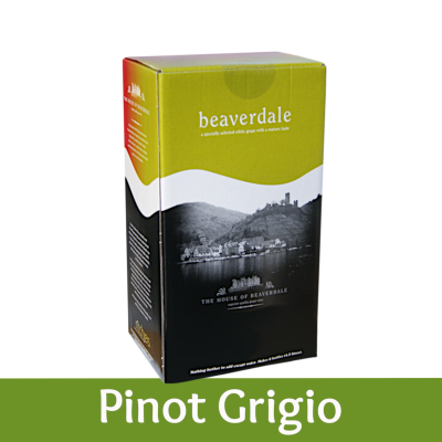 Beaverdale 6 Bottle White Wine Ingredient Kit - Pinot Grigio