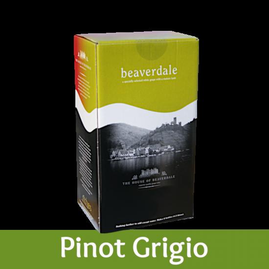Beaverdale 6 Bottle White Wine Ingredient Kit - Pinot Grigio