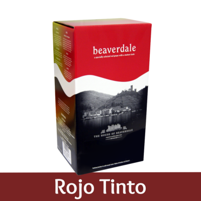 Beaverdale 6 Bottle Red Wine Ingredient Kit - Rojo Tinto