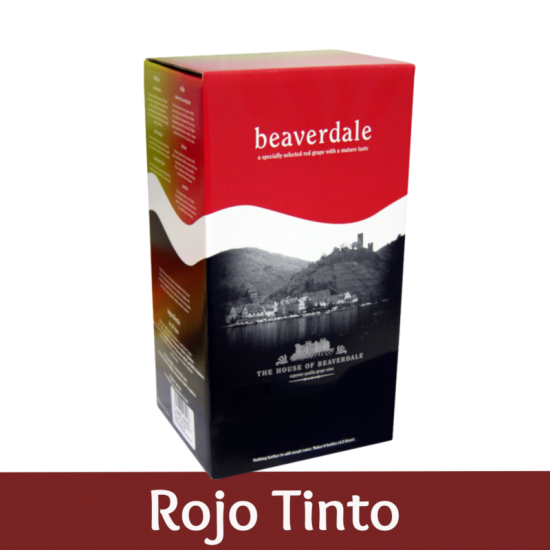 Beaverdale 6 Bottle Red Wine Ingredient Kit - Rojo Tinto