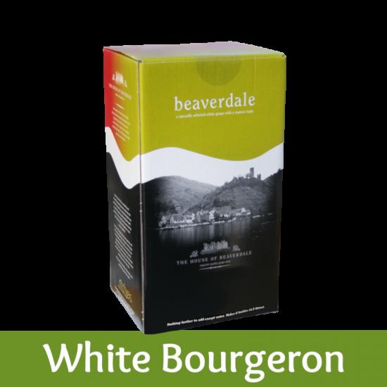 Beaverdale 6 Bottle White Wine Ingredient Kit - White Bourgeron (White Burgundy)