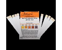 Beer Acid Test Strips - ph 4.6 to 6.2 - Pack Of 10