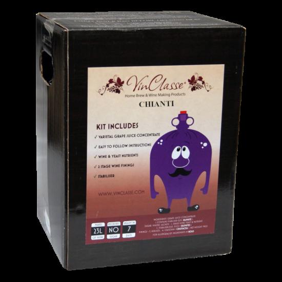 VinClasse Chianti 23 Litre - 7 Day Red Wine Kit