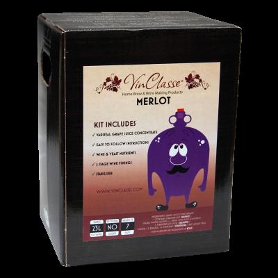 VinClasse Merlot 23 Litre - 7 Day