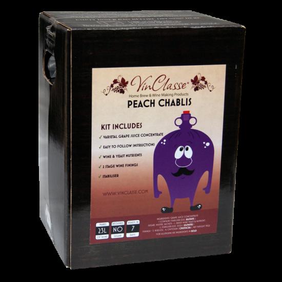 VinClasse Peach Chablis 23 Litre - 7 Day Wine