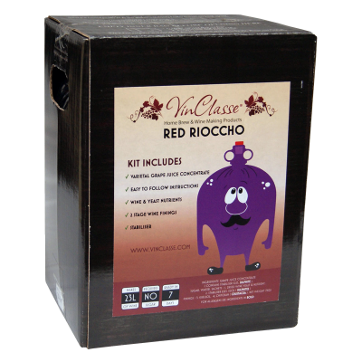 VinClasse Red Rioccho 23 Litre - 7 Day