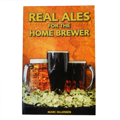 Real Ales For The Home Brewer Book - By Marc Ollossen