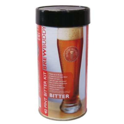 SPECIAL OFFER - Brewbuddy Bitter 40 Pint Ingredients - Damaged Tin